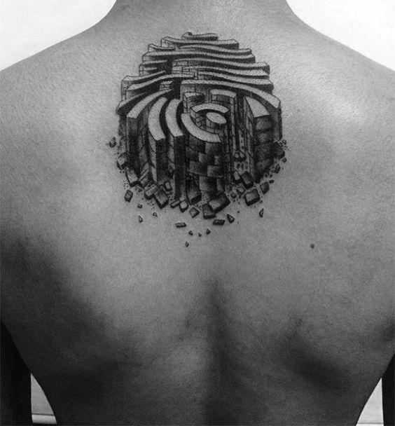 Diseños de Tatuajes en Forma de de Huella Digital