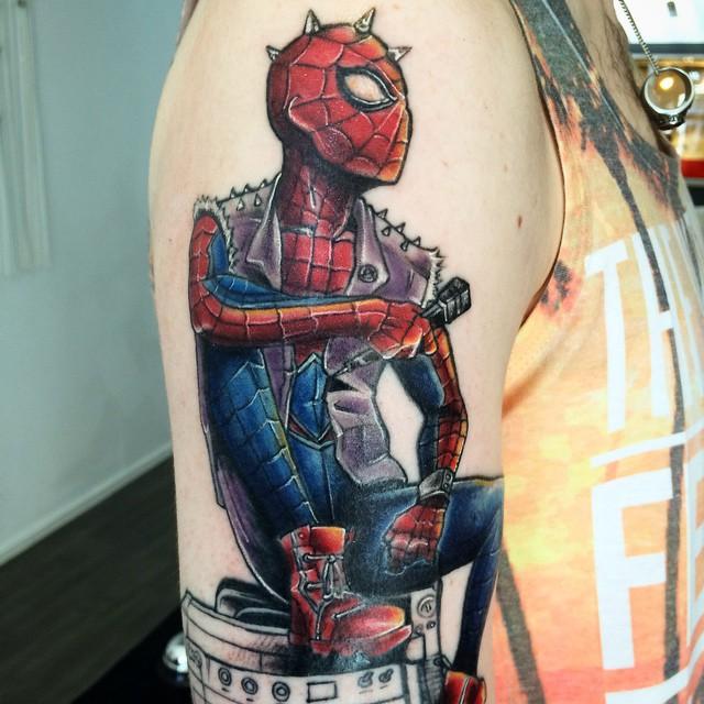 Tatuajes de Marvel 1 Tatuajes de Marvel y sus Super Héroes