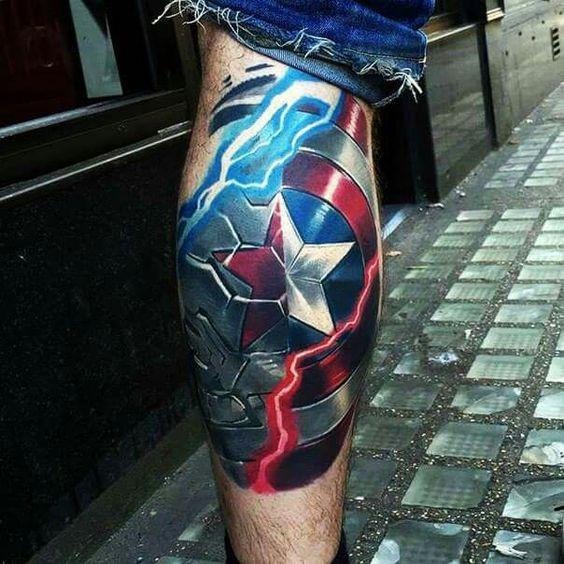 Tatuajes de Marvel 11 Tatuajes de Marvel y sus Super Héroes