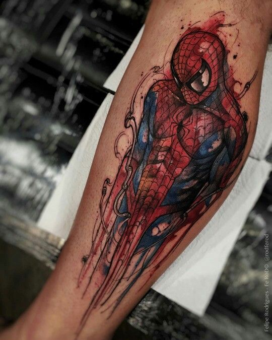 Tatuajes de Marvel 13 Tatuajes de Marvel y sus Super Héroes