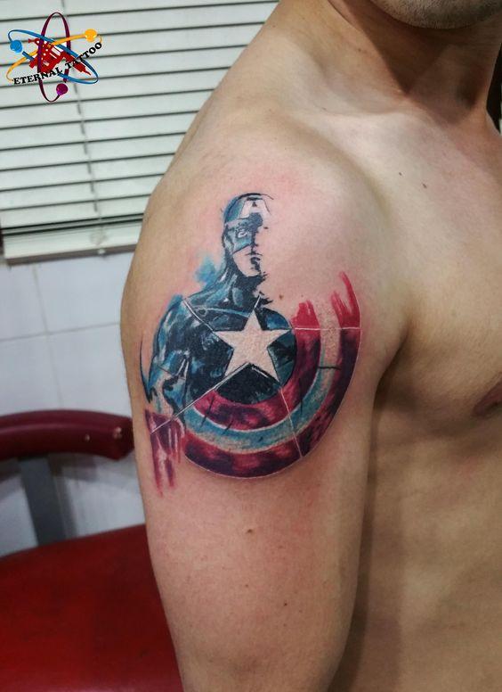 Tatuajes de Marvel 15 Tatuajes de Marvel y sus Super Héroes