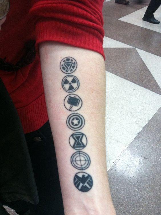 Tatuajes de Marvel 18 Tatuajes de Marvel y sus Super Héroes