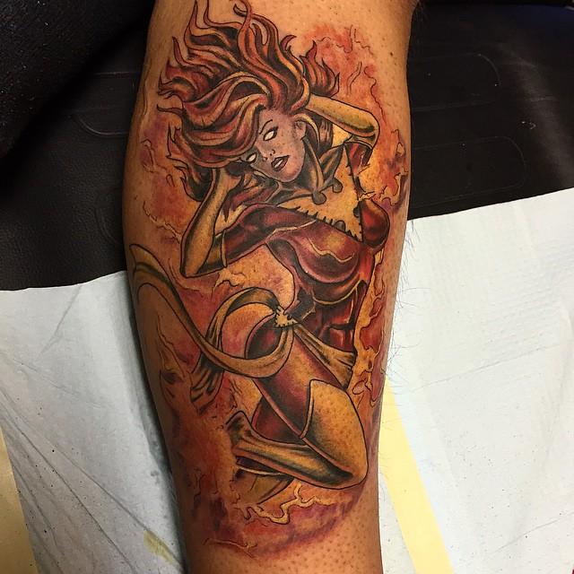 Tatuajes de Marvel 2 Tatuajes de Marvel y sus Super Héroes