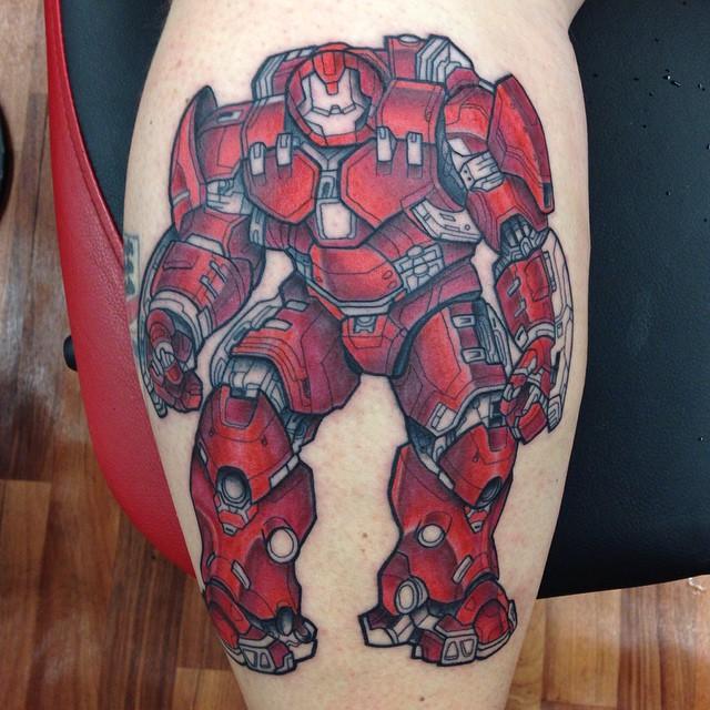Tatuajes de Marvel 24 Tatuajes de Marvel y sus Super Héroes
