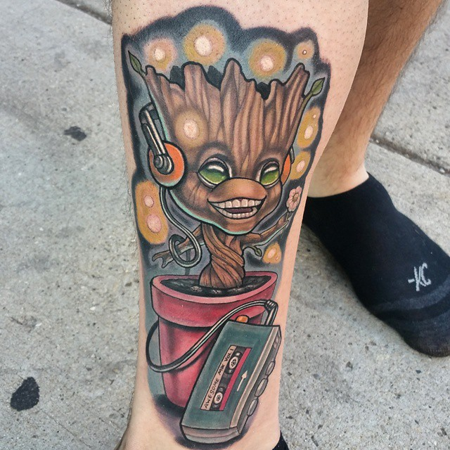 Tatuajes de Marvel 3 Tatuajes de Marvel y sus Super Héroes