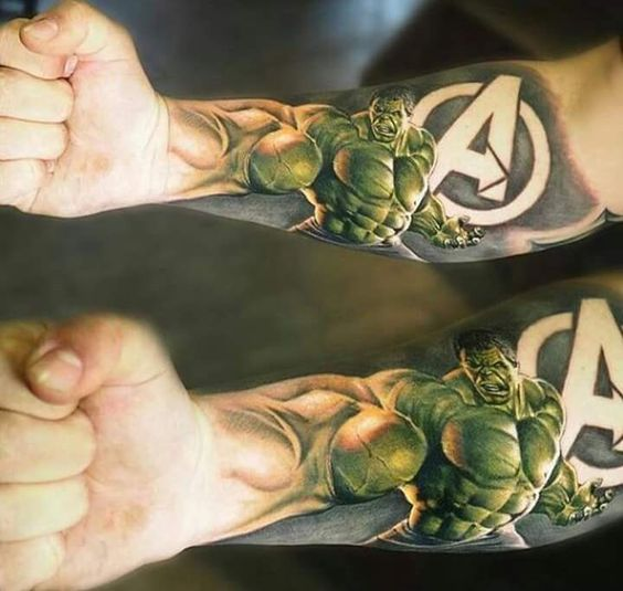 Tatuajes de Marvel 9 Tatuajes de Marvel y sus Super Héroes