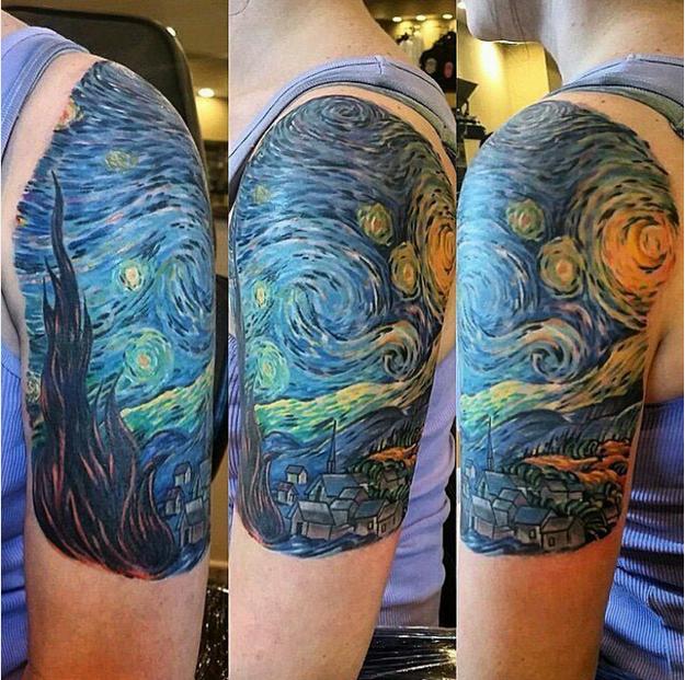 Tatuajes Inspirados en Obras de Arte