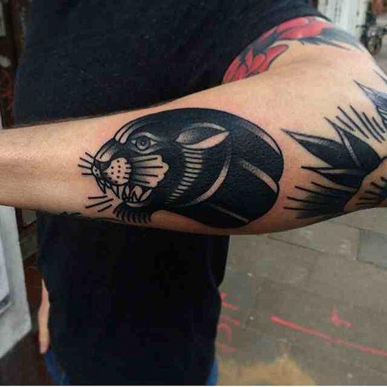 Ideas de Tatuajes de Panteras para Hombres y Mujeres