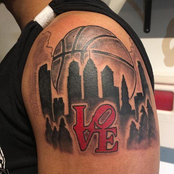 Tatuajes Inspirados en el básquetbol o Baloncesto