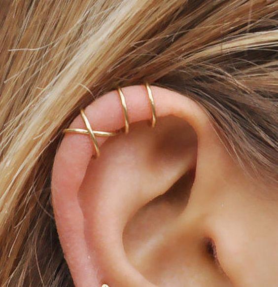 perforaciones en las orejas 12 Ideas para Perforaciones en la Oreja