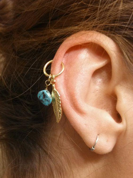 perforaciones en las orejas 18 Ideas para Perforaciones en la Oreja