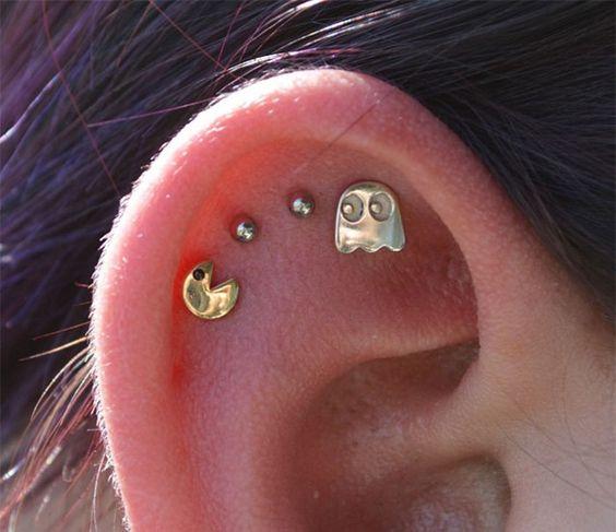 perforaciones en las orejas 25 Ideas para Perforaciones en la Oreja