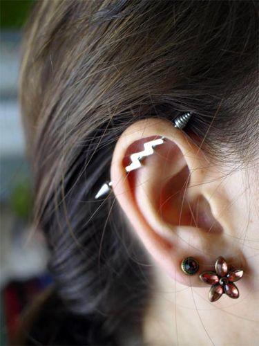 perforaciones en las orejas 4 Ideas para Perforaciones en la Oreja