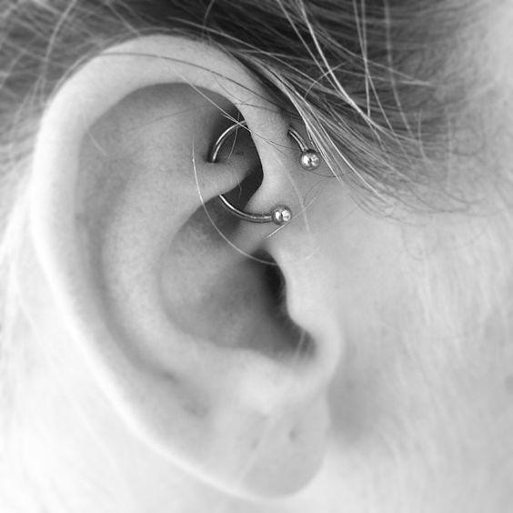 perforaciones en las orejas 5 Ideas para Perforaciones en la Oreja