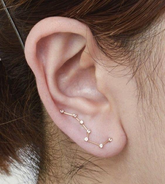 perforaciones en las orejas 6 Ideas para Perforaciones en la Oreja