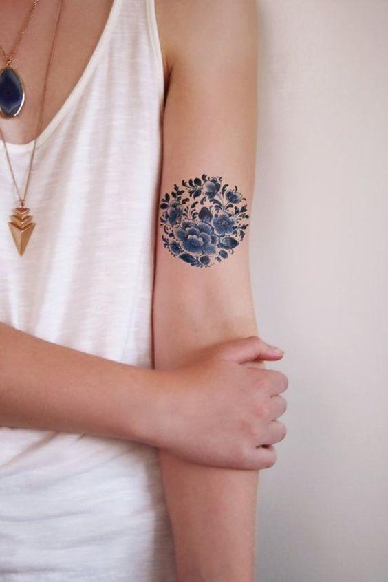 tatuajes de circulo 13 Tatuajes de Circulos, Diseños y Significados