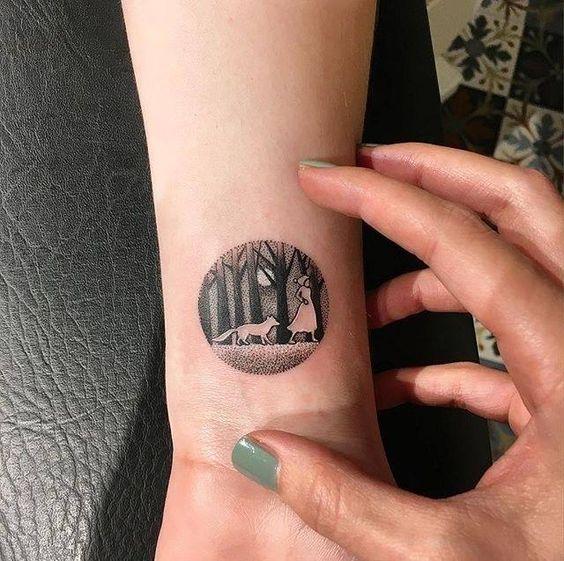tatuajes de circulo 14 Tatuajes de Circulos, Diseños y Significados