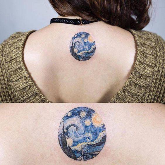 tatuajes de circulo 9 Tatuajes de Circulos, Diseños y Significados