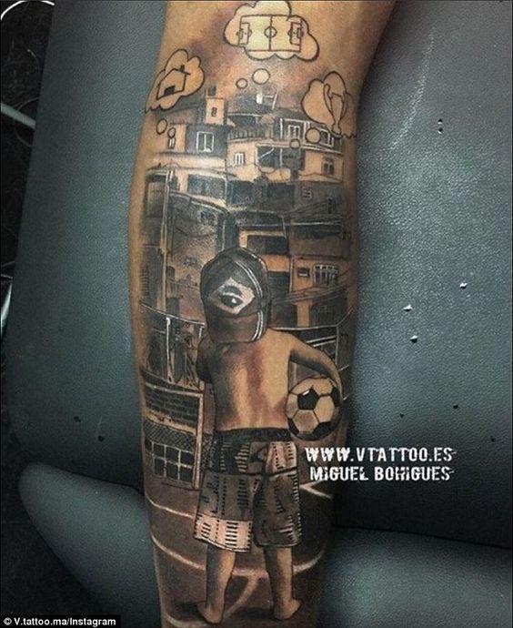 tatuajes futbol soccer 14 Tatuajes Inspirados en el Soccer