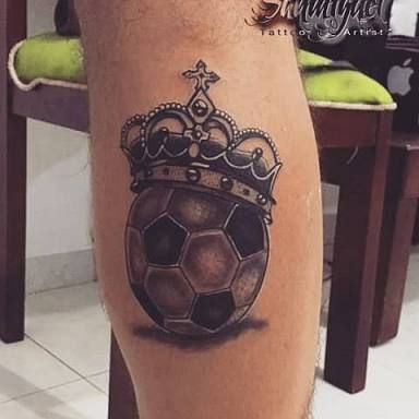 Ideas de Tatuajes Relacionados con el Fútbol Soccer