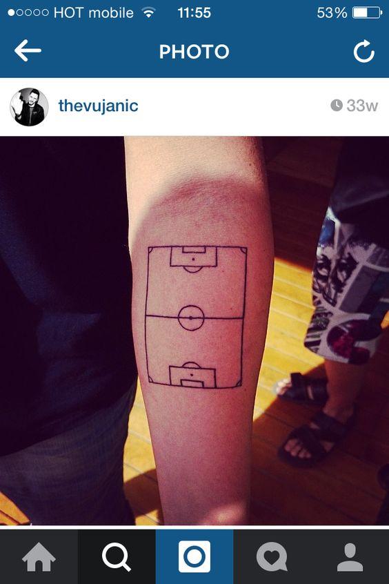 tatuajes futbol soccer 4 Tatuajes Inspirados en el Soccer