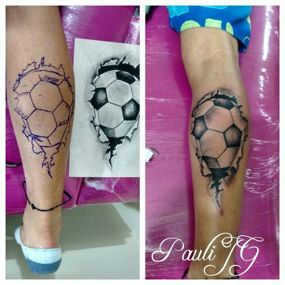 tatuajes futbol soccer 8 Tatuajes Inspirados en el Soccer