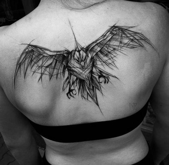 Grandes Tatuajes para la Espalda 3 Tatuajes para la Espalda