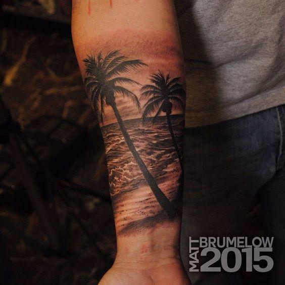 tatuajes y playa