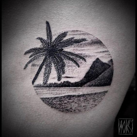 Tatuajes Inspirados en la Playa y el Mar