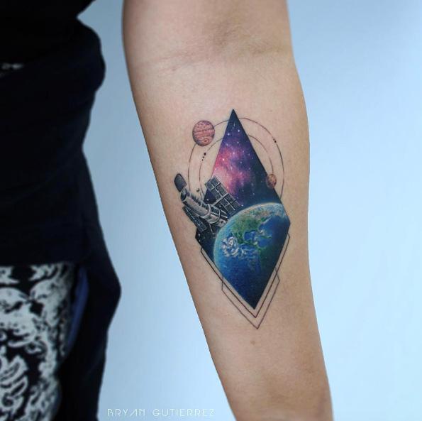 Impresionantes Ideas de Tatuajes Basados en la Ciencia