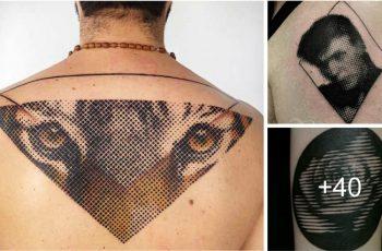 Tatuajes de Medios Tonos