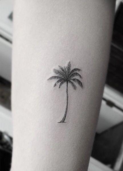 Tatuajes de Palmeras 10 Tatuajes de Palmeras