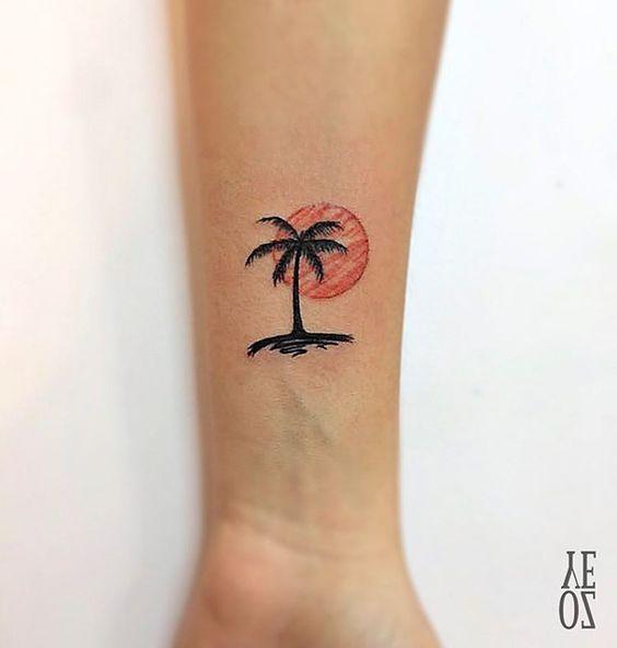 Tatuajes de Palmeras 15 Tatuajes de Palmeras