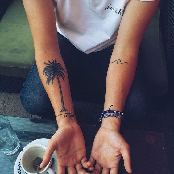 Tatuajes de Palmeras 21 Tatuajes de Palmeras