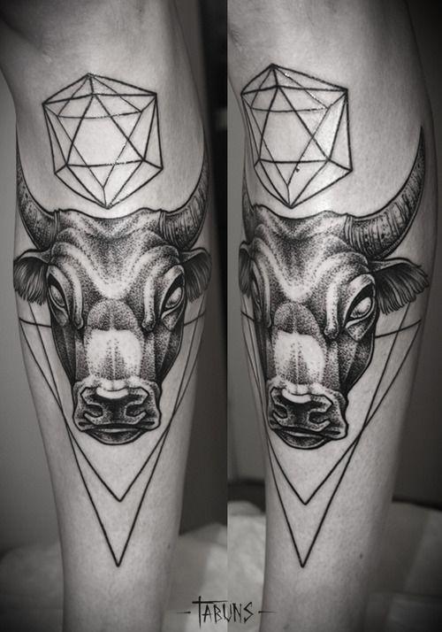 Los Tatuajes de Toros mas Impresionantes y sus Significados