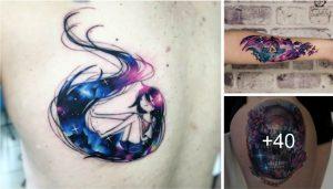 40 Creativos y Divertidos Diseños de Tatuajes del Cosmos
