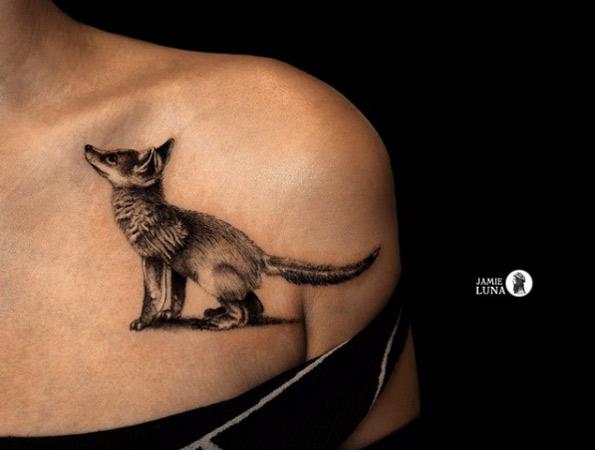 Estos Son los Tatuajes de Animales Mas Lindos que Hay