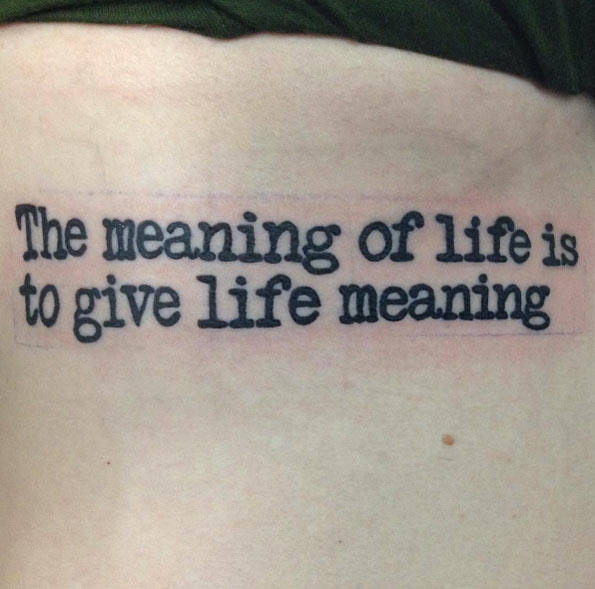 Tatuajes de citas
