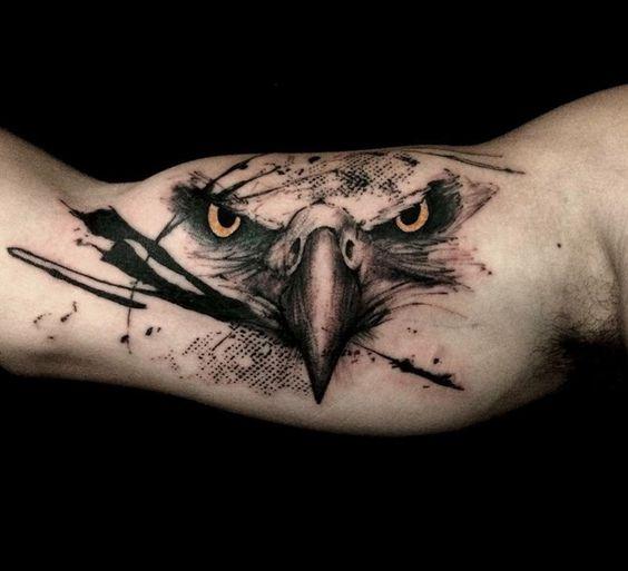 Ideas de Tatuajes de Aguilas para Mujeres y Hombres