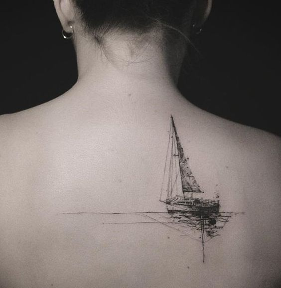 tatuajes de barcos 10 Tatuajes de Barcos