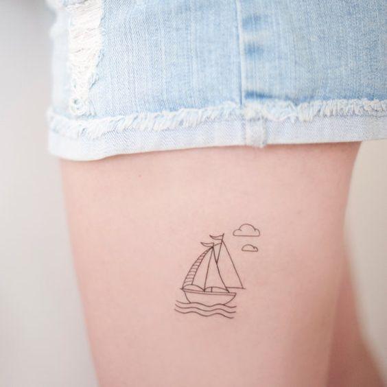 tatuajes de barcos 14 Tatuajes de Barcos