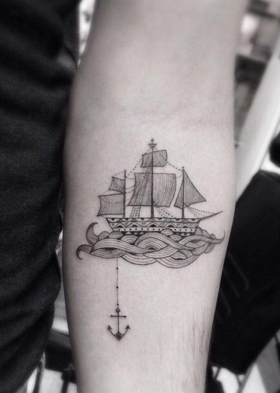 tatuajes de barcos 2 Tatuajes de Barcos