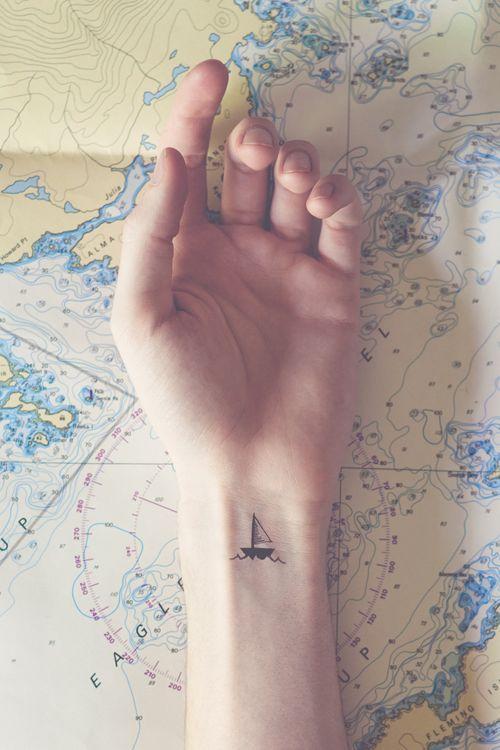tatuajes de barcos 21 Tatuajes de Barcos