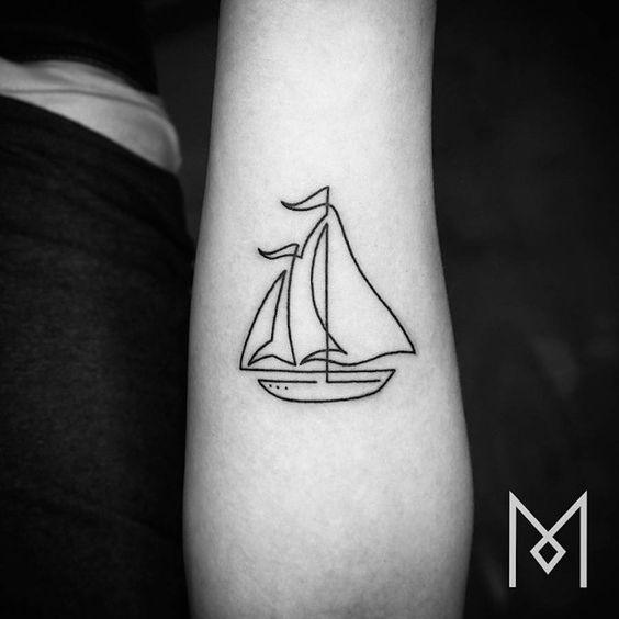 tatuajes de barcos 25 Tatuajes de Barcos