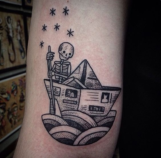 tatuajes de barcos 34 Tatuajes de Barcos