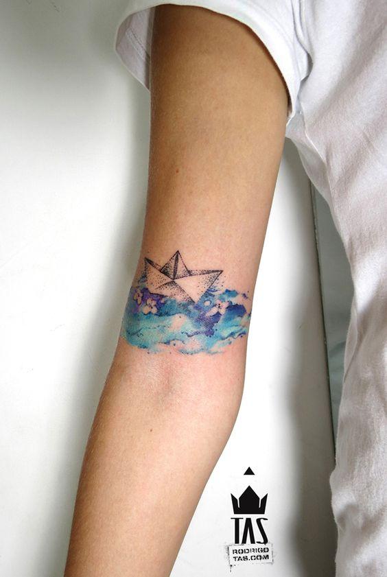 tatuajes de barcos 5 Tatuajes de Barcos