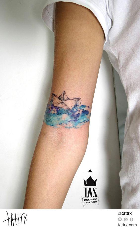 tatuajes de barcos 7 Tatuajes de Barcos