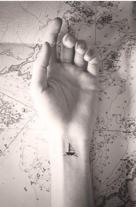 tatuajes de barcos 9 Tatuajes de Barcos