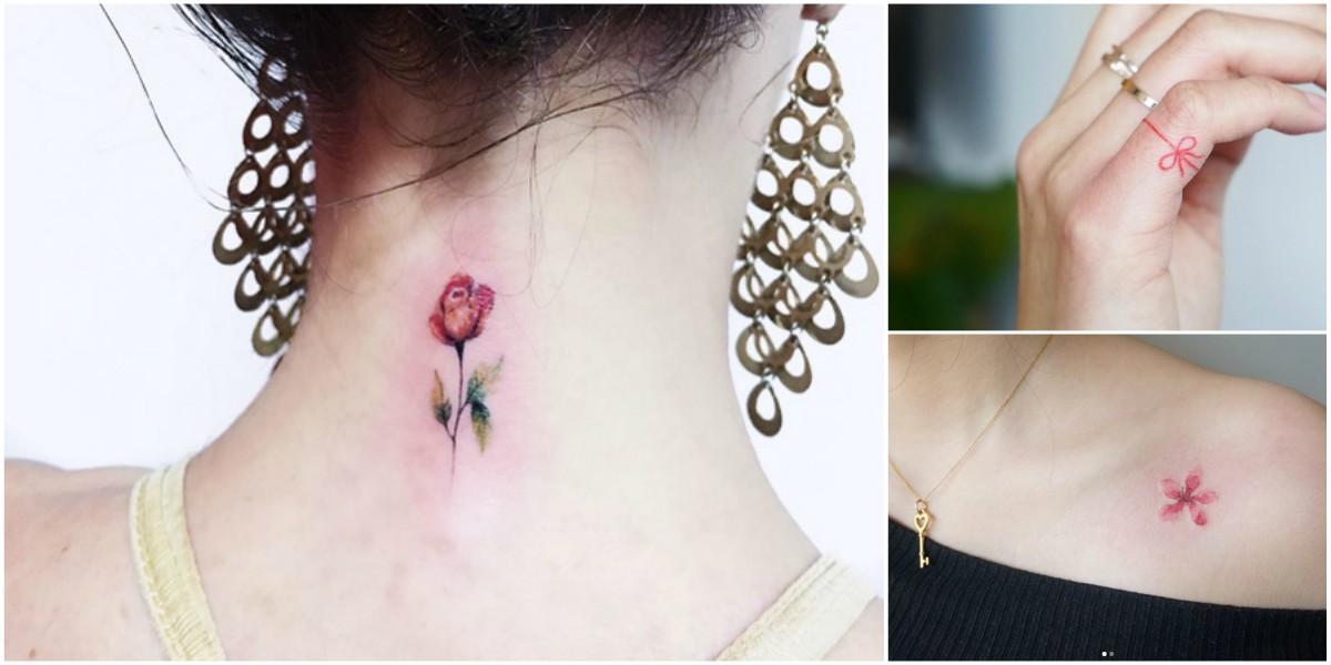 40 Pequeños Tatuajes que toda chica desearía tener