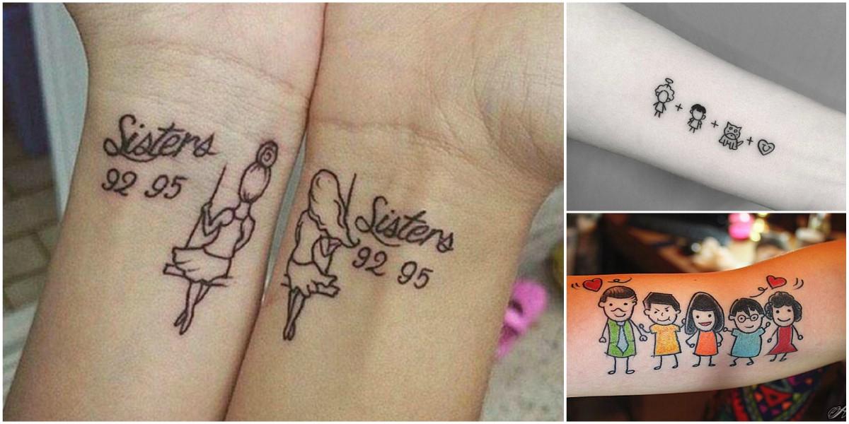 Hermosos Tatuajes Que Representan La Union Familiar Tatuajes Para